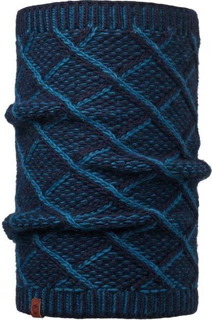 Вязаный шарф-труба Buff Plaid Medieval Blue
