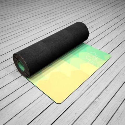 Коврик для йоги America  173*61*3мм из микрофибры и каучука