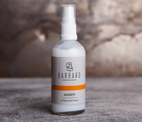 Жидкий крем - бальзам после бритья AMBER от Barbaro (100 мл)