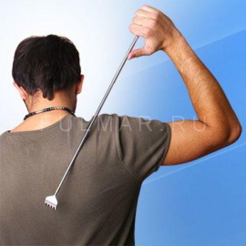 Чесалка для спины телескопическая
