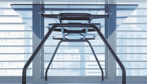 Конференц-стол со стеклянной столешницей (XEON)