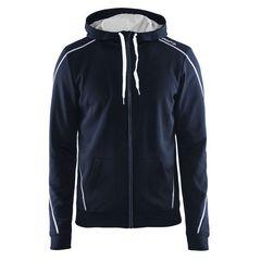 Мужская куртка-толстовка Craft In the Zone (1904156-2395) темно-синяя