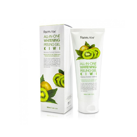 FarmStay Пилинг гель с экстрактом киви All-in-one Whitening Peeling Gel Kiwi 180мл