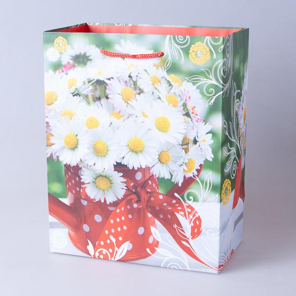 Пакет подарочный бумажный 18*23*10см, 640302-2