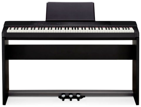 Цифровое пианино Casio PX-150 Privia (с фирменной стойкой и тремя педалями)