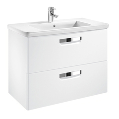 Мебель для ванной Roca The Gap 80x41см. белая ZRU9302732/327470000