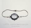 """Основа для браслета / часов """"Пандора"""" 19 см (цвет - античное серебро)"""