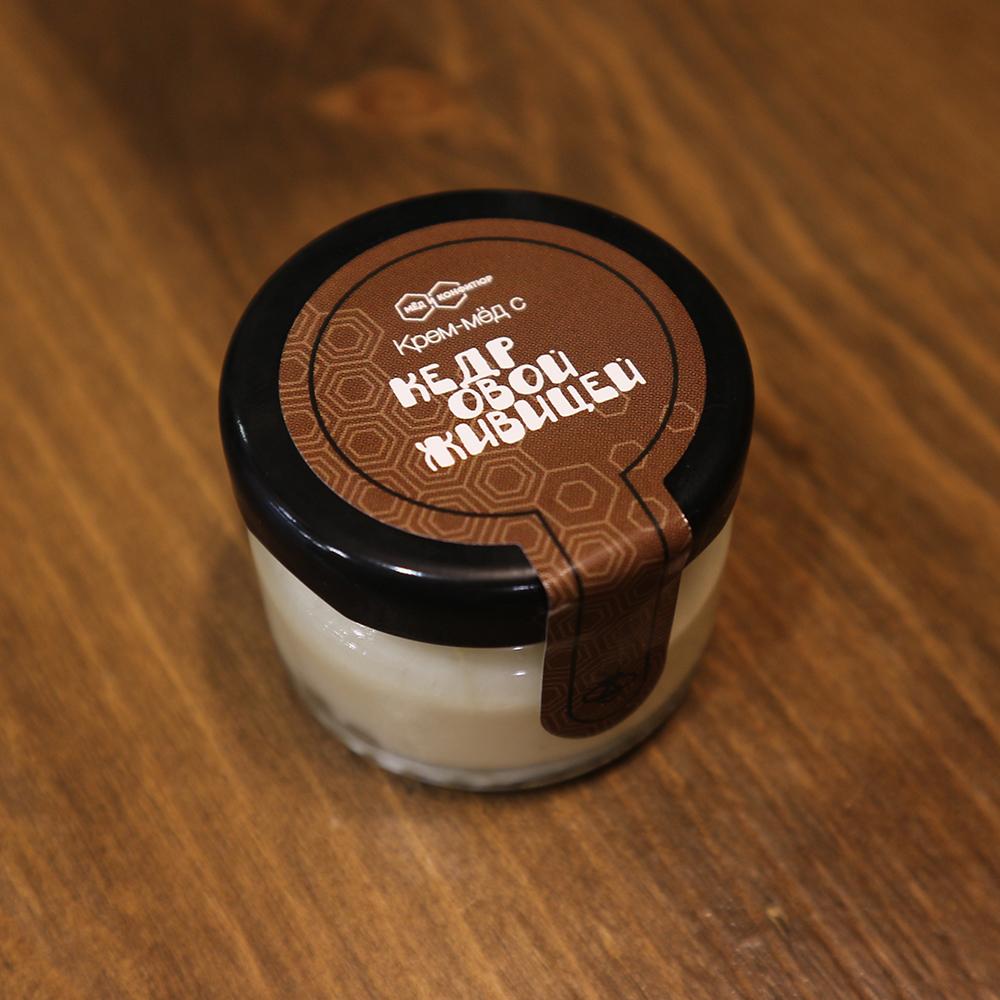 Купить крем-мед с кедровой живицей в Перми