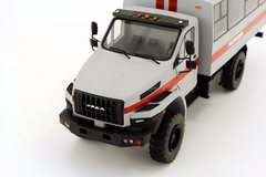Ural-NEXT 32552-5013-71E5 4x4 Rosgvardia (Russian Guards) handmade 1:43