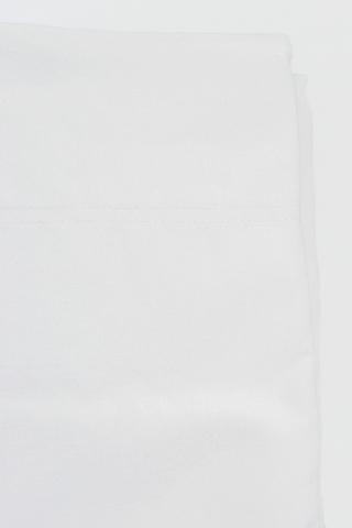 Наволочки 2шт 70х70 Caleffi Tinta Unita белые