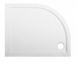 Поддон из литьевого мрамора Эстет Омега 100x80 радиус