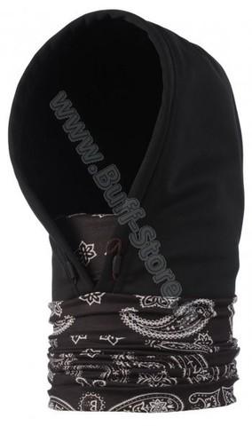 Шарф-капюшон непродуваемый Buff Cashemere Black