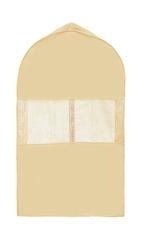 чехол для костюма короткий 100х60х10 см, sand