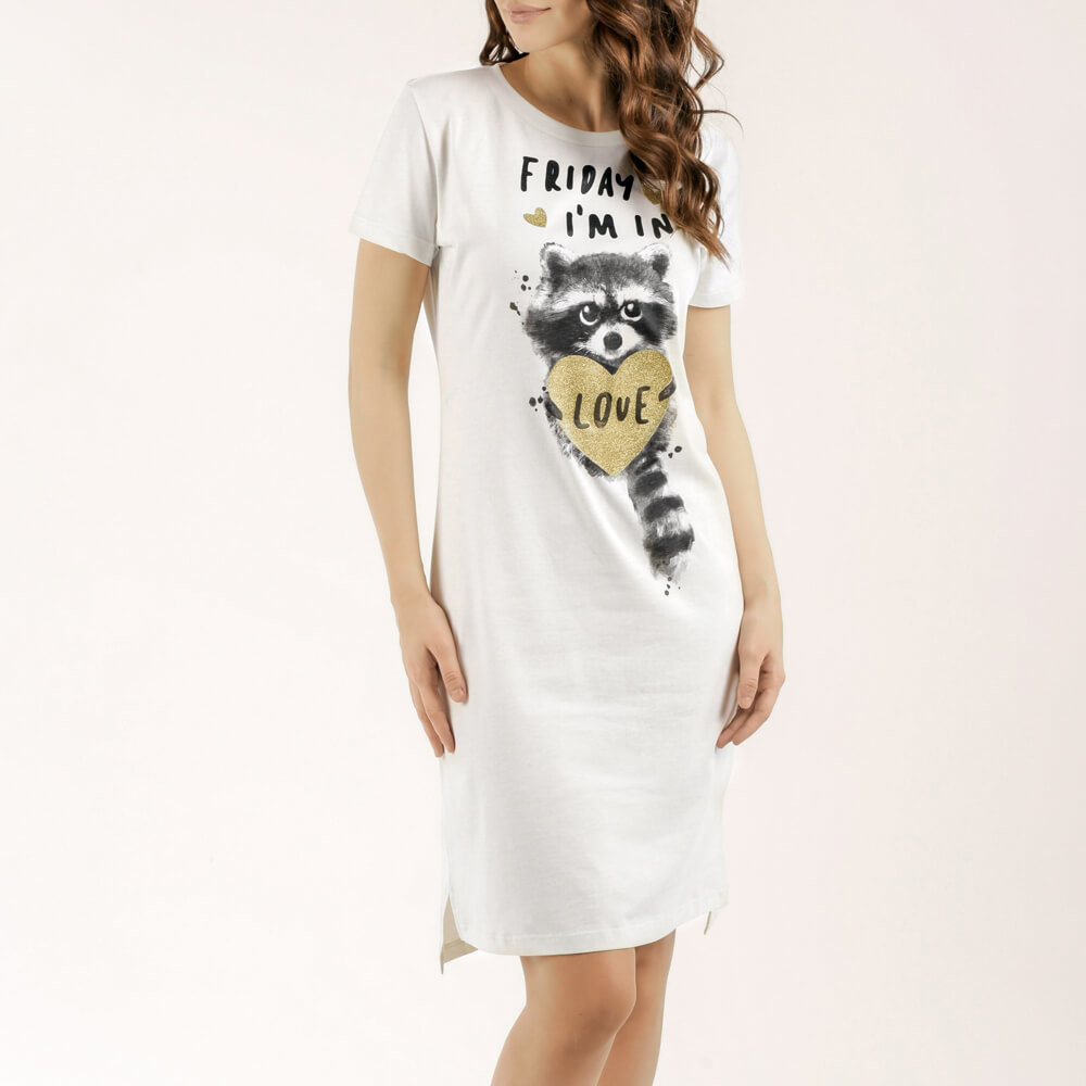 Женская ночная сорочка E20K-12X102
