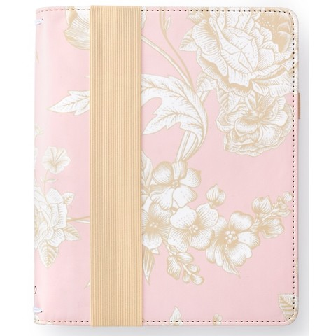 Тревел холдер- Color Crush A5 Travel Notebook (без блокнота) Pink Floral