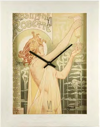 Часы настенные Lowell 05474