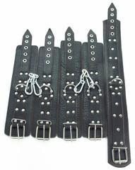 БДСМ фиксаторы из кожи (BDSM арсенал)
