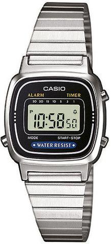 Купить Женские наручные электронные часы Casio LA670W-1 по доступной цене