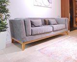 диван прямой, сделан по индивидуальному проекту