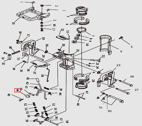 Скоба для лодочного мотора T9.8 Sea-PRO (11-44)