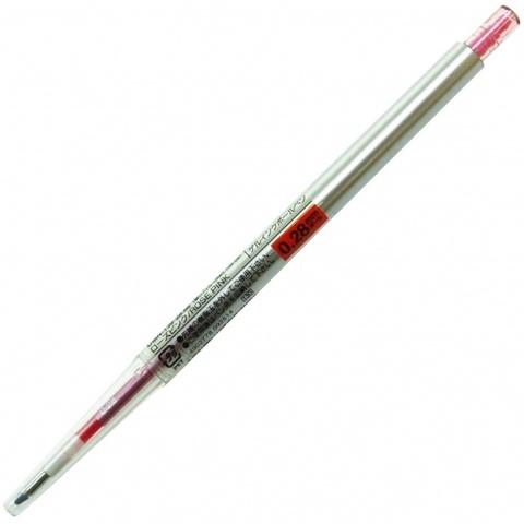 Гелевая ручка 0,28 мм Uni Style Fit - Rose Pink - красно-розовые чернила
