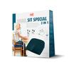 Ортопедическая подушка Sissel Sit для сиденья, 43х40