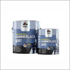 Эмаль гладкая на ржавчину Dufa Hammerlack (черная)