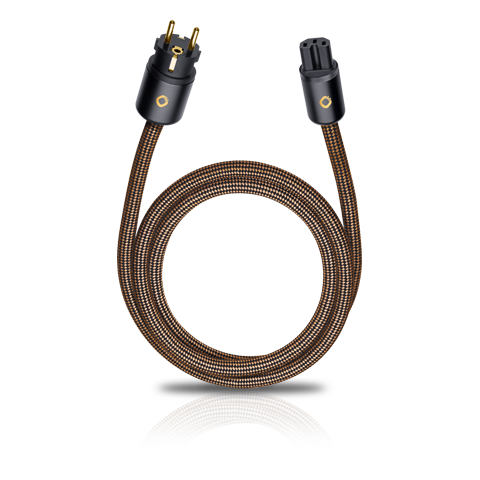 Oehlbach XXL Powercord 0.75m, кабель сетевой