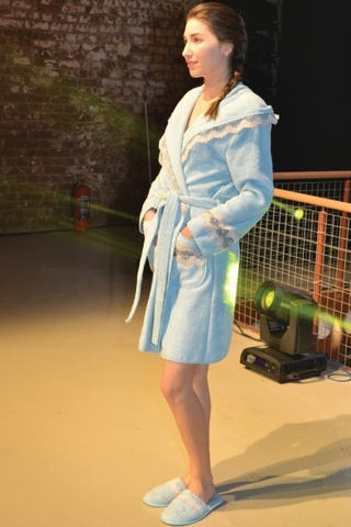 НАБОР женский махровый халат с тапками VANESSA ВАНЕССА  Maison Dor Турция