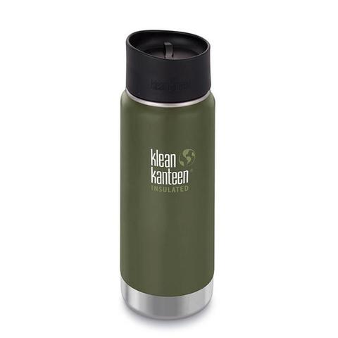 #Термокружка Klean Kanteen Insulated Wide Cafe Cap 16oz (473 мл) Fresh Pine