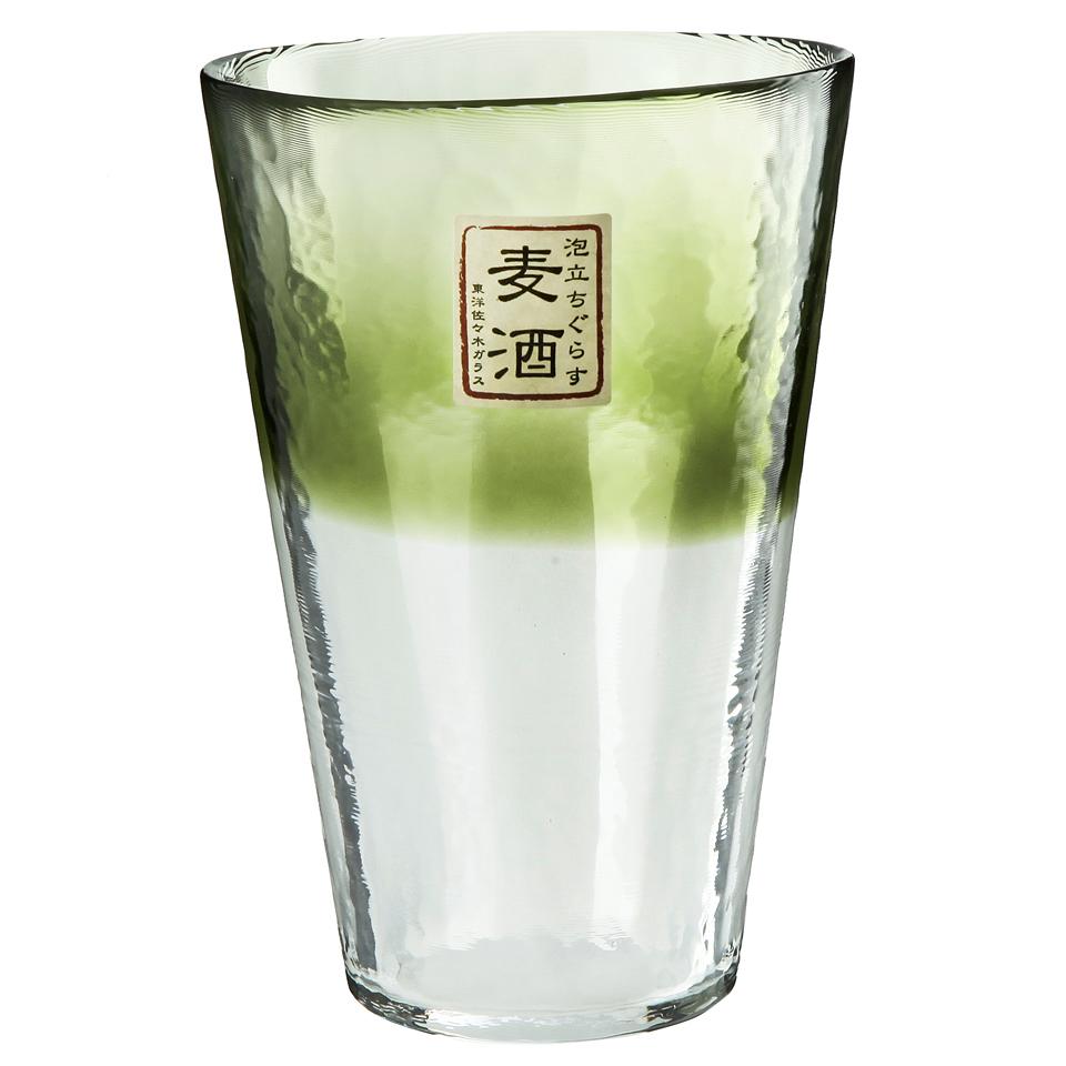 Стаканы Стакан 400 мл Toyo Sasaki Glass Machine зеленый stakan-400-ml-toyo-sasaki-glass-machine-zelenyy-yaponiya.JPG