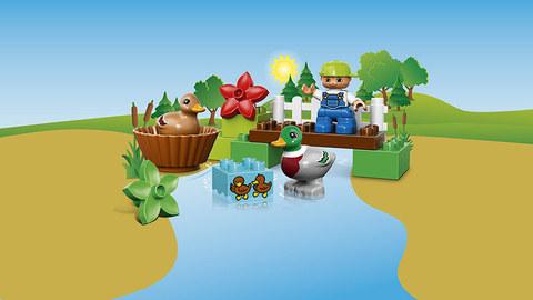 LEGO Duplo: Уточки в лесу 10581