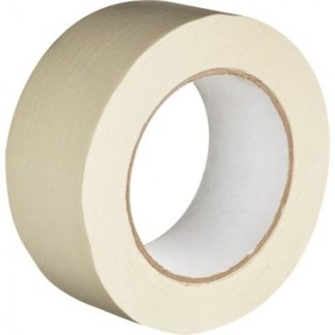 Клейкая лента бумажная (малярная) 48х50