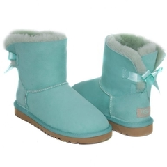 UGG Bailey Bow Mini Aqua
