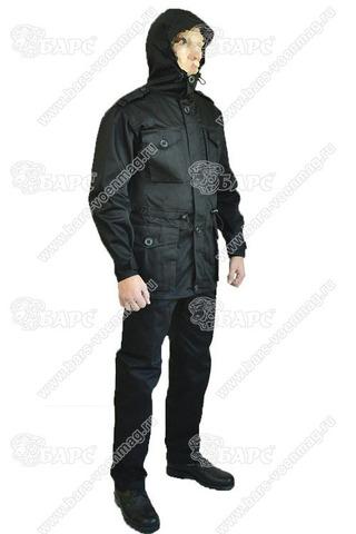 Камуфляжный костюм «Смок-М» Чёрный