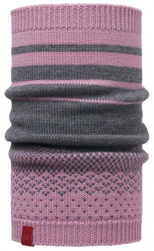 Вязаный шарф-труба Buff Mawililac Shadow Purple