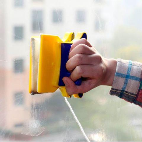 Магнитная щетка для двухстороннего мытья окон (стекло 6 мм)