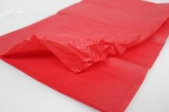 Бумага тишью, красная 76*50 см (10 листов в уп.)