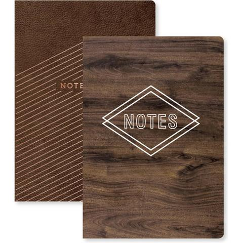 Комплект блокнотов для записи We R Typecast Notebook W/Pockets