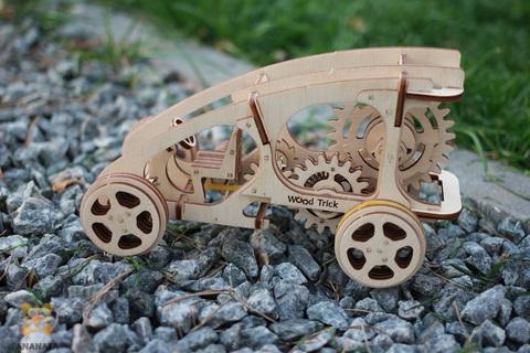 Деревянный 3D пазл Багги (Wood Trick)