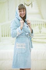 VANESSA ВАНЕССА НАБОР женский махровый халат с тапками Maison Dor Турция