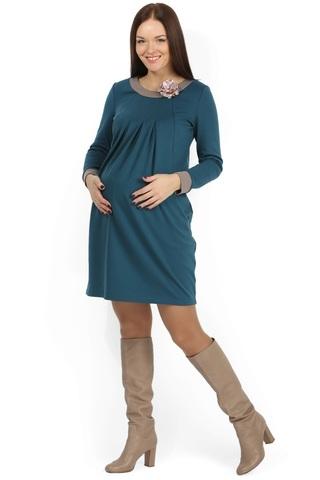 Платье 07964 зеленый