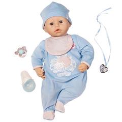 Zapf Creation Baby Annabell Кукла-мальчик с мимикой, 46см (792-827)