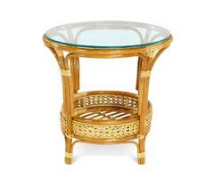 Стол обеденный PELANGI / со стеклом / — прозрачный