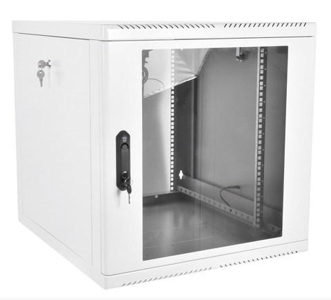 Шкаф ЦМО ШРН-М-15.650 телекоммуникационный настенный разборный 15U (600 × 650), съемные стенки, дверь стекло