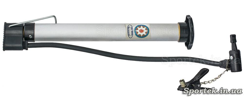 Велосипедный насос (длина 30 и диаметр 3 см) с алюминиевым корпусом