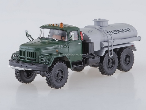 ZIL-131 AC-40 Fuel tanker green-gray 1:43 AutoHistory
