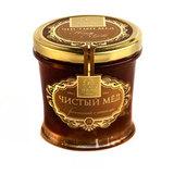 Мёд натуральный Гречишный с сотами, артикул 18, производитель - Peroni Honey