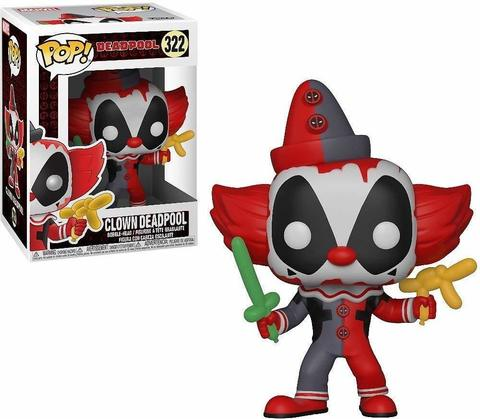 Фигурка Funko POP! Bobble: Marvel: Deadpool Playtime: Deadpool Clown 31120