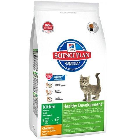 Hill's сухой корм для котят (курица) 2кг
